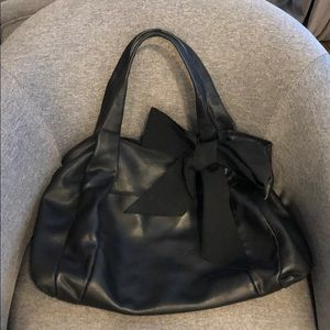 Ann Taylor leather tote
